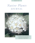 Native Plant Journal Cover Page Image